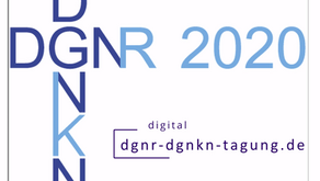 """Take a glimpse on our first product """"CUREosity mobile clinic"""" at the virtual DGNR / DGNKN 2020"""