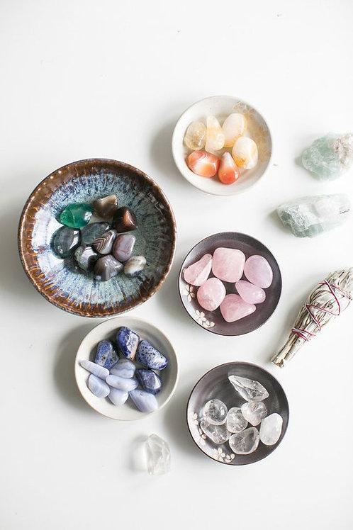 Set de 5 Cristales y Cuarzos