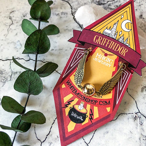 Pulseras Snitch- Harry Potter