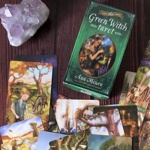 Tarot Green Witch