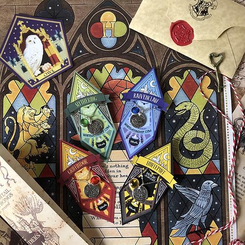 Collar Hogwarts Houses - Harry Potter
