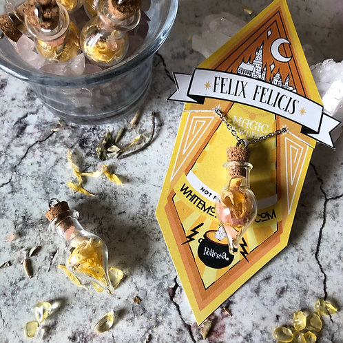 Amuleto Natural Felix Felicis- Harry Potter