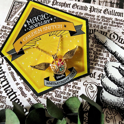 Collar Golden Snitch - Harry Potter