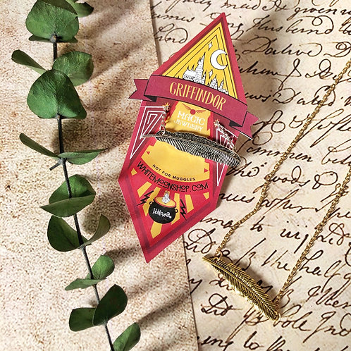Collar Wingardium Leviosa- Harry Potter