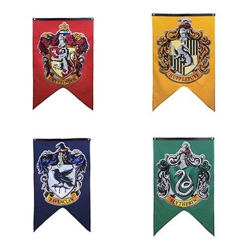 Banderas Casas Hogwarts - Harry Potter