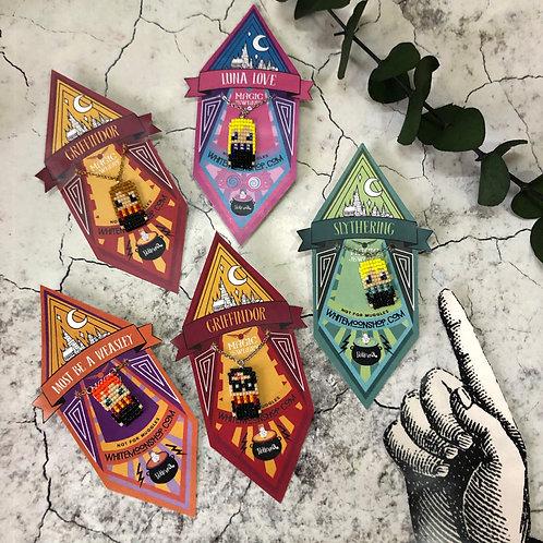Collares Artesanales Personalizados - Harry Potter