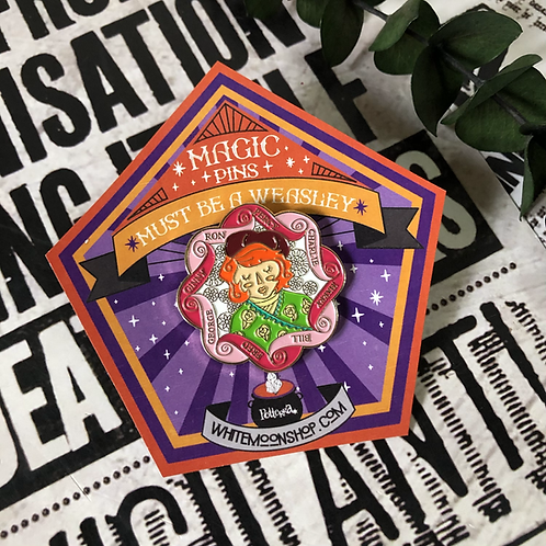 Pin Molly Weasley gde - Harry Potter