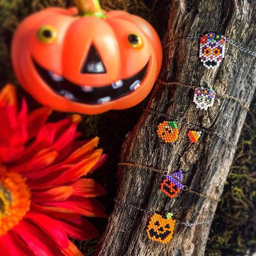 Joyeria Muertos y Halloween Hecha a Mano