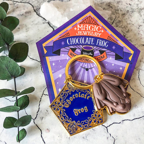 Llavero Rana de Chocolate - Harry Potter