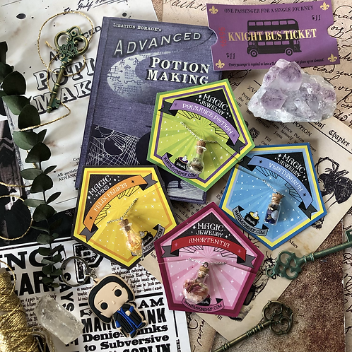 Kit Halfblood Prince Deluxe - 4 Amuletos (pociones)
