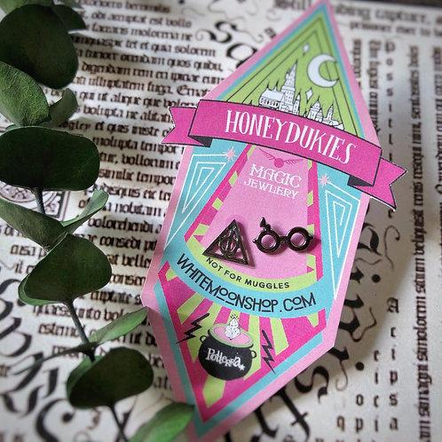 Aretes lentes harry y reliquias  - Harry Potter