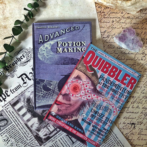 Libretas Magicas Pociones y Quibbler Gde