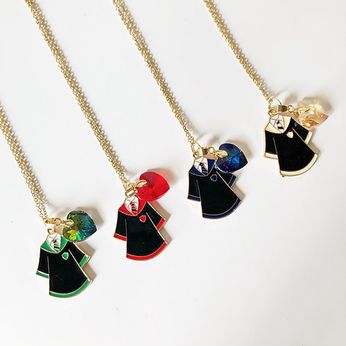 Collares Casas Hogwarts 2 dijes - Harry Potter