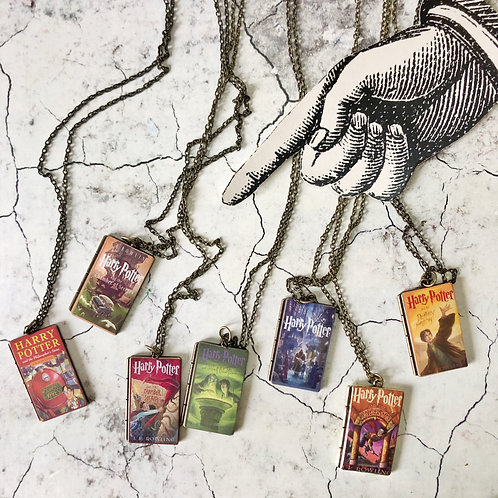 Collares Libros - Harry Potter