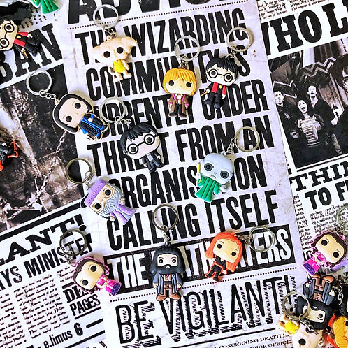 Llaveros Harry Potter