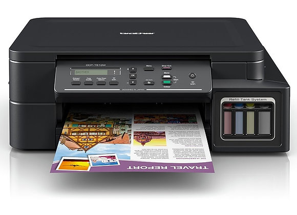 Multifuncional Brother DCP T510W Color Inyeccion de Tinta