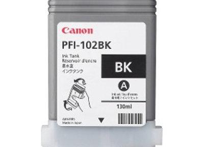 TINTA CANON NEGRA PFI-102BK (SOLO iPF605/510/650/6