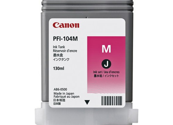 TINTA CANON MAGENTA PFI-102M (SOLO iPF605/510/710/720)