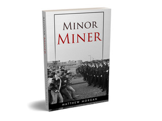 My book, Minor Miner, was published today.