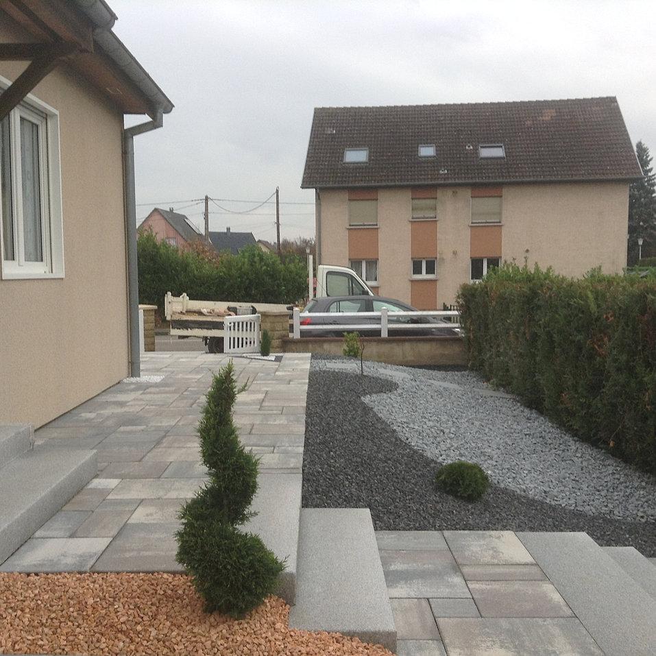 Europavage am nagement ext rieur et paysager 68 68260 kingersheim - Jardin terrasse toit mulhouse ...