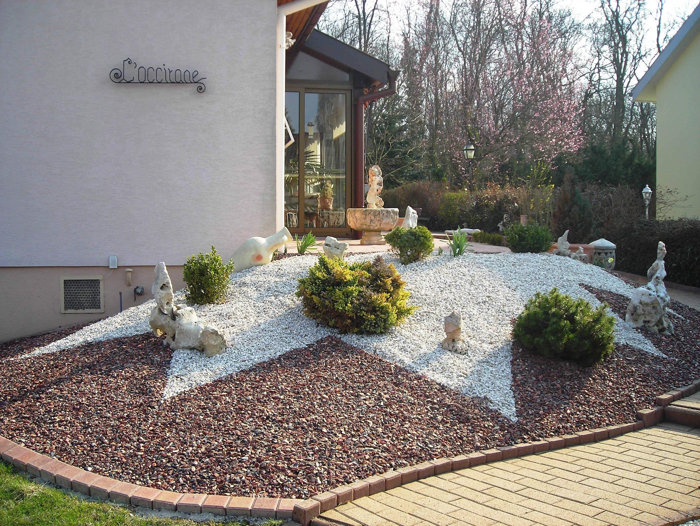 Europavage am nagement ext rieur et paysager 68 68260 Decoration exterieur avec cailloux