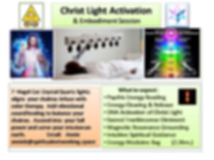 Christ Light Activation & Embodiment Ses