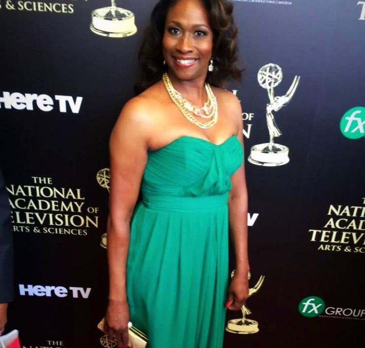 emmy green dress