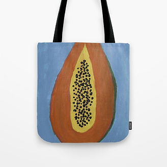 Papaya Tote Bag.jpg