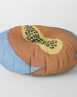 Papaya floor pillow.jpg