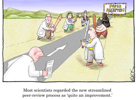Think you're your own harshest critic? Try peer review…