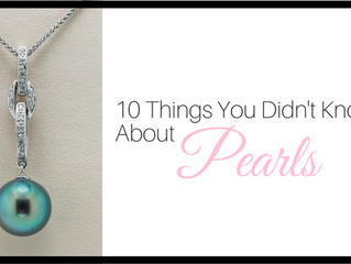 10 Things You Didn't Know About Pearls