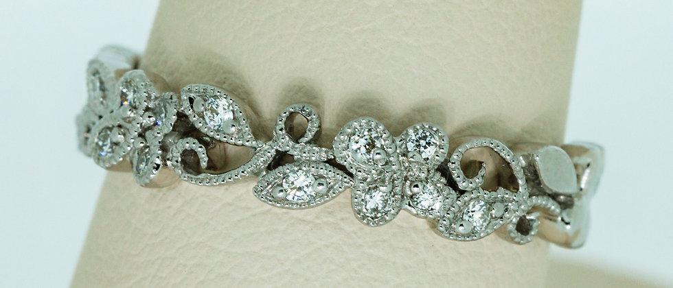 Diamond Fashion Filigre Ring