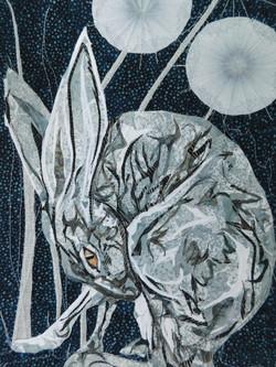 Dandelion moon Hare