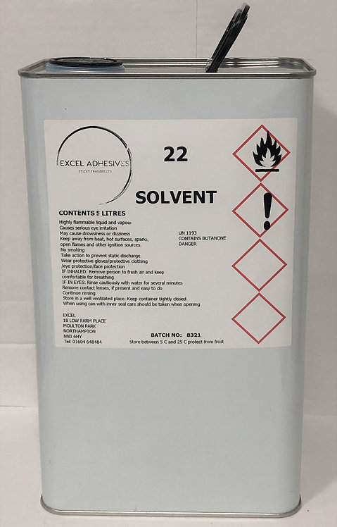 Excel 22 Solvent (5 Litre)