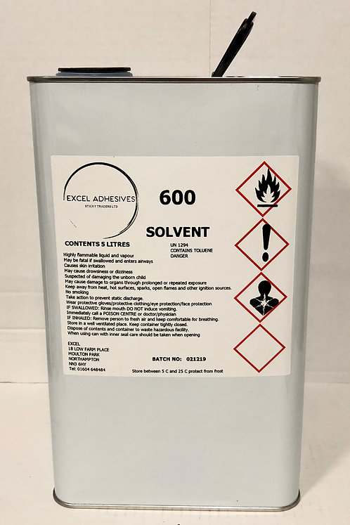 Excel 600 Solvent
