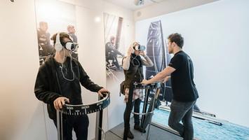 Solution d'expérience immersive pour SpindRift Racing