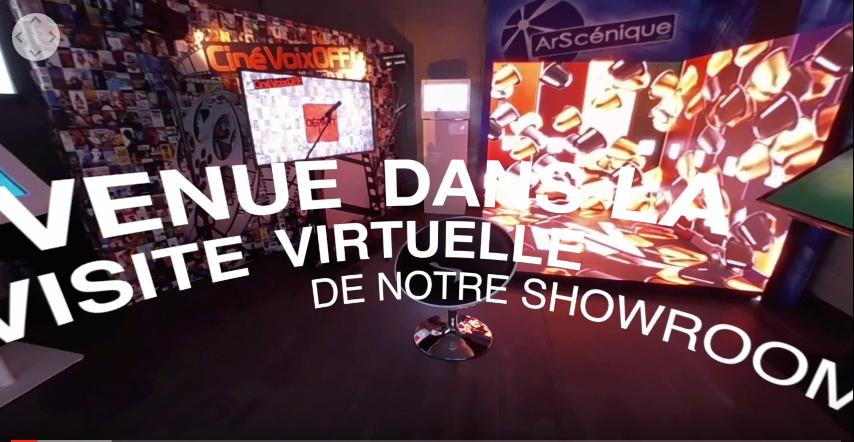 La vidéo à 360° du showroom ArScénique
