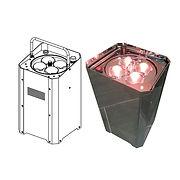 PAR HF MIROIR LED P410