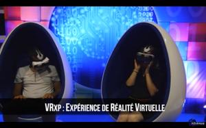 VRXP : expérience de réalité virtuelle