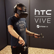 """HTC VIVE, la """"Rolls"""" de la réalité virtuelle"""