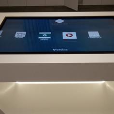 Solutions interactives dynamiques pour le showroom GECINA à Paris