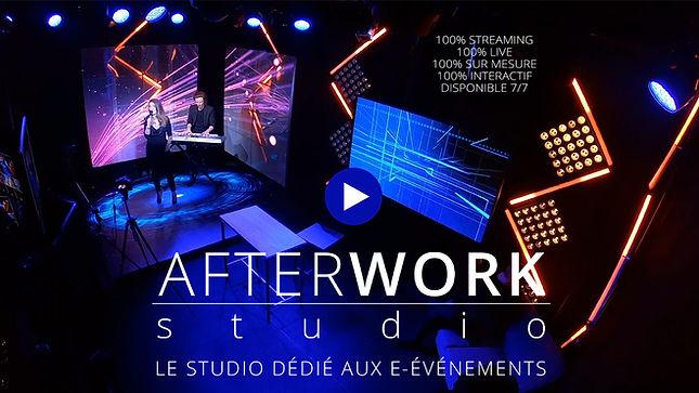 Acceuil AfterWork studio