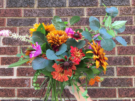 July in the Garden: Bouquets