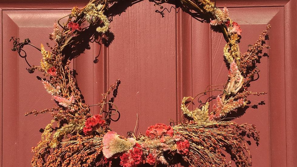 Celosia Wreath