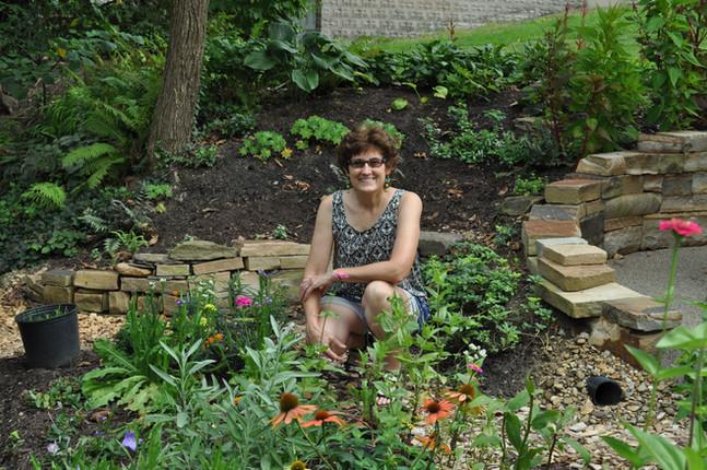 Madeline in the Garden