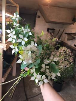 Garden Bouquet with Dogwood