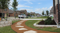 RESIDENTIAL STONE WORK & PATHWAY