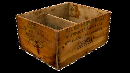Dynamite box 3D scan