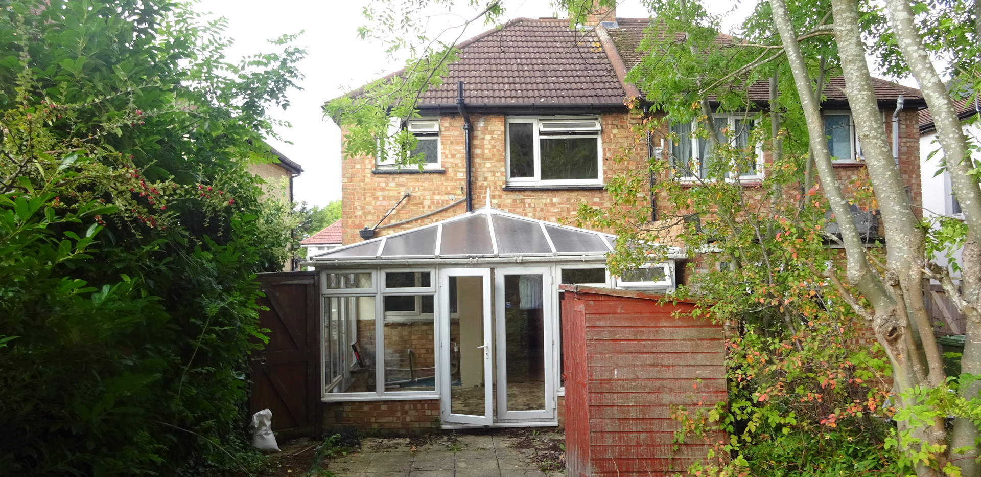 Existing Conservatory (Outside)