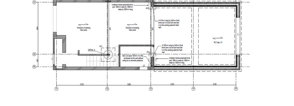 Proposed Ground Level Plan